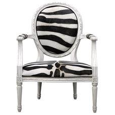 Eclectic Armchairs by Zinc Door