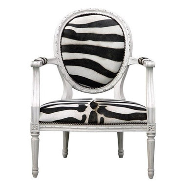 Oly Studio Sophie Lounge Chair - This chair will add instant drama to your space. You can't go wrong with a classic design in a bold zebra print.