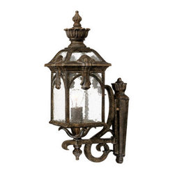 "Acclaim Lighting - Acclaim Lighting 7101 Belmont 1 Light 20.5"" Height Outdoor Wall Sconce - Acclaim Lighting 7101 Belmont One Light 20.5"" Height Outdoor Wall SconceThis wall sconce from the Belmont Collection of exterior lights features a multitude of ornamental accents and baroque flourishes.Acclaim Lighting 7101 Features:"