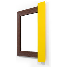 Modern Mirrors by WoodnGo