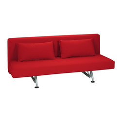 DWR Sliding Sleeper Sofa designed by Pietro Arosio - Dimensions:L 79''  × W 35''  × H 33''