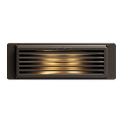 Hinkley Lighting - Hinkley Lighting 59009BZ 120V 9W Line Voltage Brick Step Light - Hinkley Lighting's mission is simple: to bring you cool classics that suit the way you live today.