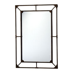 Cyan Design - Cyan Design Lighting - 04920 Federal Mirror - Cyan Design 04920 Federal Mirror
