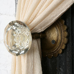 Doorknob Curtain Tieback