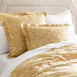 Sammie Tile Duvet Cover, King/Cal. King, Wheat