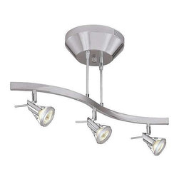 Access Lighting - Access Lighting 63013LED-MC Versahl Modern Track Light - Mat Chrome - Access Lighting 63013LED-MC Versahl Modern Track Light In Mat Chrome