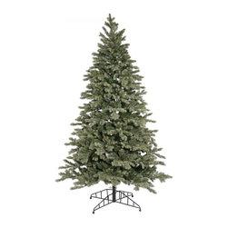"christmas tree-7.5' x 52"" blue balsam (D115276) - christmas tree-7.5' x 52"" blue balsam, 3131 tips / 800clear lights, available at www.essentialsinside.com"