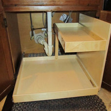 Contemporary Cabinet And Drawer Organizers by ShelfGenie of Metro NJ and NY