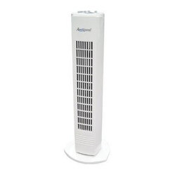 CAMAIR, LLC - 29IN TOWER FAN - Push button control, 90 degree oscillation, 2 hour sleep timer. Durable plastic construction, sleek, space-saving design, high gloss finish          This item cannot be shipped to APO/FPO addresses.