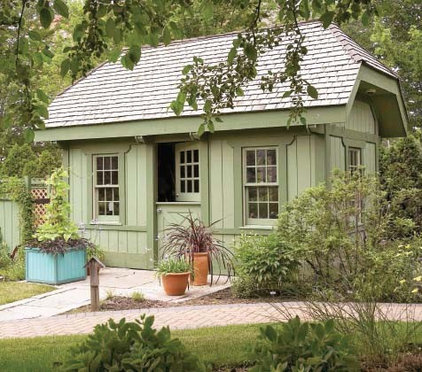 traditional sheds by familyhomeplans.com