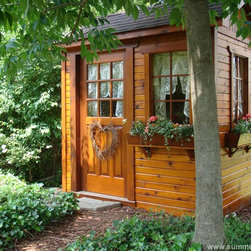 Summerwood Garden Sheds - This small shed is perfect to any garden as well as big enough to fit all the necessary garden tools, equipment and bikes.