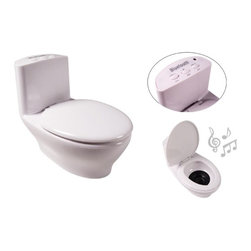 Kito - 4 Inch Built In Rechargeable Capable Toilet Speakers, White - This gorgeous 4 Inch Built In Rechargeable Capable Toilet Speakers, White has the finest details and highest quality you will find anywhere! 4 Inch Built In Rechargeable Capable Toilet Speakers, White is truly remarkable.