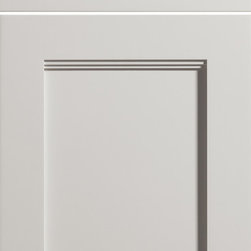 """Dura Supreme Cabinetry - Dura Supreme Cabinetry Breckenridge Panel Cabinet Door Style - Dura Supreme Cabinetry """"Breckenridge Panel"""" cabinet door style shown in paintable with """"Pearl"""" gray paint finish. This door style is a beautiful option for Transitional styled designs and Traditional styled designs alike."""