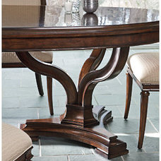 Stanley Furniture » Dining Tables » Avalon HeightsDouble Pedestal Table