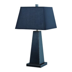 Lite Source - 21133Blk Blk 1 Light Table Lamp With Black Fabric Shade - To put it plainly and simply, Lite Source is a quality manufacturer of a vast selection of both beautiful and affordable interior lamps, not to mention a small number of other household items.