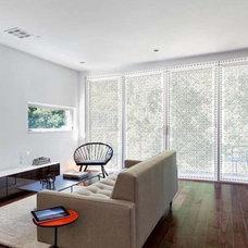 Contemporary Living Room by Delia Shades