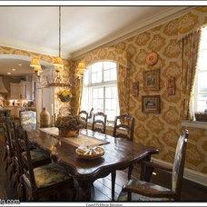 Traditional Dining Room by Laurel Feldman Interiors, IIDA