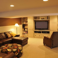 Living Room by JG Development, Inc.
