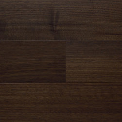 Plateau Collection - STOCKSPORT: American Black Walnut -- Prefinished Solid or Engineered Wood Flooring, Wall/Ceiling Cladding