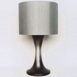 Babette Holland  Twister Table Lamp - Smoke