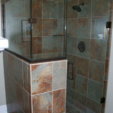 Modern Showers by Cincinnati Glass Contractors llc
