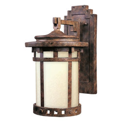 Maxim Lighting - Maxim Lighting 86033MOSE Santa Barbara Ee 13 Inch 1 Light Outdoor Wall Sconce - Lighting your life since 1970, Maxim Lighting is committed to offering you outstanding quality and satisfaction.