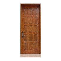 Craftsman Collection | 2073 | 22-24 - Species: Superior Alder, Distress: Tuscany, Hinges : 4.-  Ball Bearing Hinges ORB, Interior Door