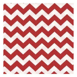 "SheetWorld - SheetWorld Fitted Crib / Toddler Sheet - Red Chevron Zigzag - Made in USA - This luxurious 100% cotton ""woven"" crib / toddler sheet features a red chevron zigzag print. Our sheets are made of the highest quality fabric that's measured at a 280 tc. That means these sheets are soft and durable. Sheets are made with deep pockets and are elasticized around the entire edge which prevents it from slipping off the mattress, thereby keeping your baby safe. These sheets are so durable that they will last all through your baby's growing years. We're called SheetWorld because we produce the highest grade sheets on the market today. Size: 28 x 52."