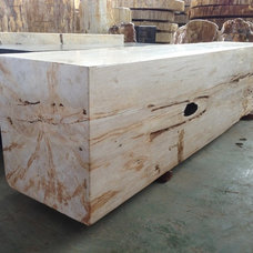 Asian Benches by Yardco Rock and Stone