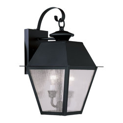 Livex Lighting - Livex Lighting 2165-04 Mansfield Wall Light Black - -Finish: Black