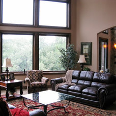 Traditional Family Room by ADC Omaha