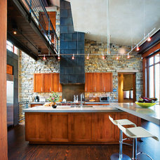 Rustic Kitchen by Jerome DeMarco ART.chitecture