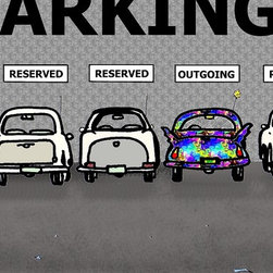 """Parking Lot"" by Paul McGehee - © Paul McGehee"