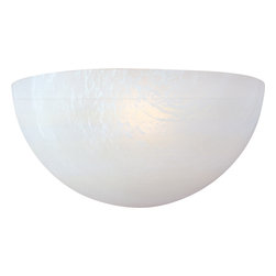 Maxim Lighting - Maxim Lighting 85585Mrwt 1-Light Wall Sconce - Maxim Lighting 85585MRWT 1-Light Wall Sconce