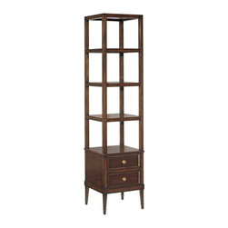 EuroLux Home - New Square Etagere Ebonized Mahogany - Product Details