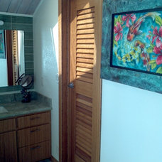 Tropical Kitchen Cabinets by North Shore Doors & Millwork