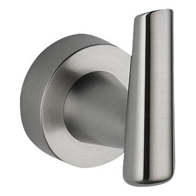 Delta Robe Hook - 77135-SS - Inspired by the sleek lines of contemporary European design, Grail combines an urban look with a delightfully intimate feel.