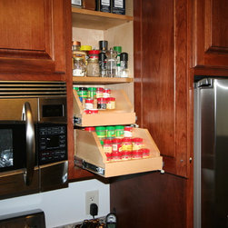 Spice Storage For Existing Cabinetry -