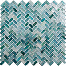 Modern Tile by Glass Tile Oasis