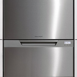 Fisher Paykel  Semi-Integrated Double Drawer Dishwasher - The double drawer is a client favorite — nice stainless looks and well priced.