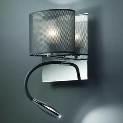 Bams Wall Lamp \ Sconce By Modiss Lighting - Bams by Modiss is a series of LED wall lights. The light fixtures are based on the the Luccas design functionality.