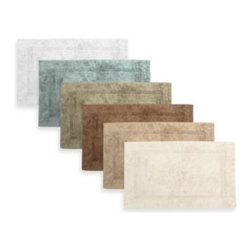 Watershed - Watershed by Park B. Smith Zero Twist 24-Inch x 40-Inch Pebble Border Bath Rug - Decorate your personal retreat like a lavish spa with Watershed by Park B. Smith Zero Twist Pebble Border bath rugs. Plush, fast-drying, mold and water resistant, they serve as stylish and supremely functional bath accents for any bathroom.
