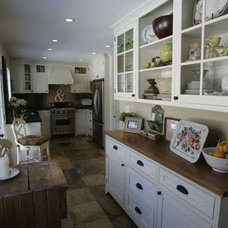 Eclectic Kitchen by laurie Battersby
