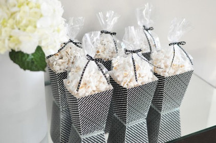 contemporary  Oscar Party Popcorn