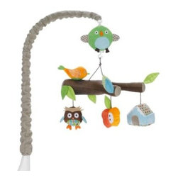 Skip Hop - SKIP*HOP Treetop Friends Crib Mobile - WARNING: Possible entanglement injury. Keep out of baby's reach. Remove mobile from crib or playpen when baby begins to push up on hands and knees.