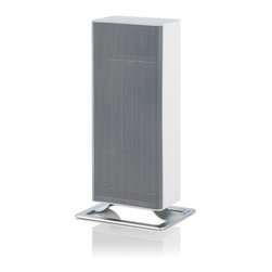 Stadler Form - Stadler Form White Anna Heater - The Anna heater is equipped with a modern PTC ceramic heating element that heats discreetly and quietly with two power levels for delightful warmth and features an auto shut-off function and tilt-protection making it a safe choice for small spaces.