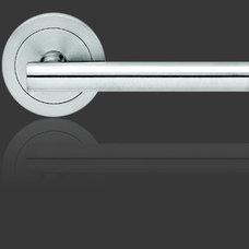 Modern Door Levers by StainlessDoorHardware.com