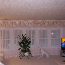 Traditional Curtains by DECOR & STYLE LLC
