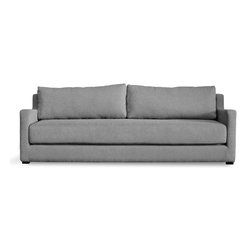 Gus - Flip Sofa Bed - The Flip Sofabed's unique design allows it to effortlessly convert from a stylish, modern sofa to a Queen size bed with one quick flip.