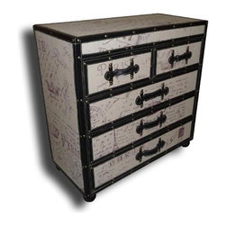 EuroLux Home - New Chest of Drawers Leather BG-149 - Product Details